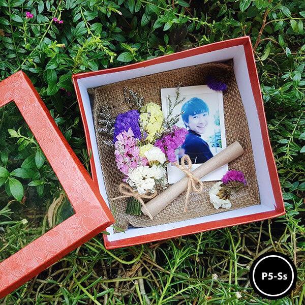 กล่องดอกไม้ P5-Ss
