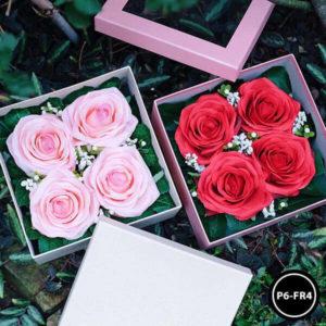 กล่องดอกไม้ P6-RF6