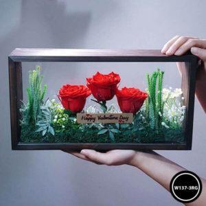 กล่องดอกไม้ W137-3RG