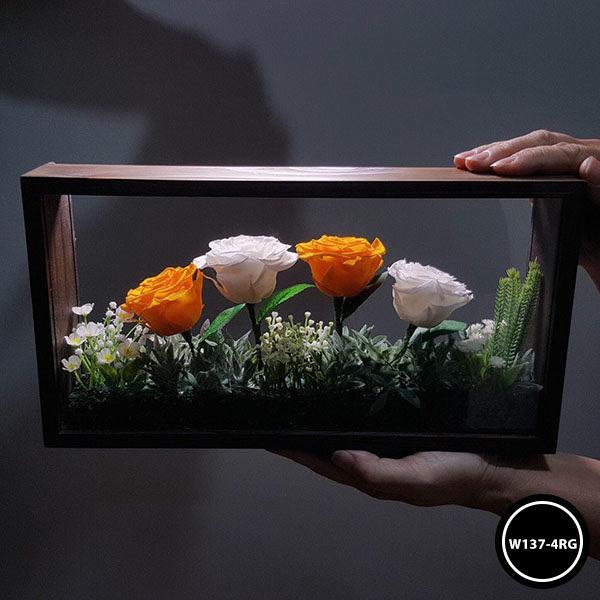 กล่องดอกไม้ W137-4RG