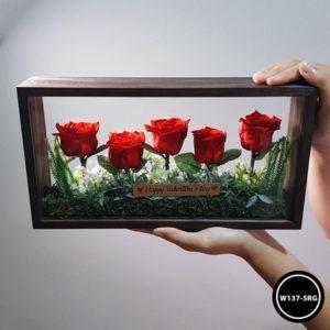 กล่องดอกไม้ W137-5RG