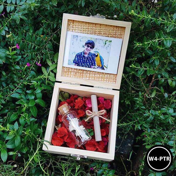 กล่องดอกไม้W4-PTR
