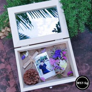 กล่องดอกไม้ W57-Sg