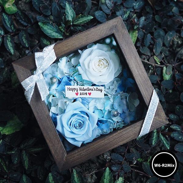 กล่องดอกไม้ W6-R2Mix