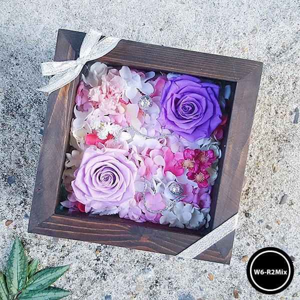 กล่องดอกไม้ W6-R2Mix2