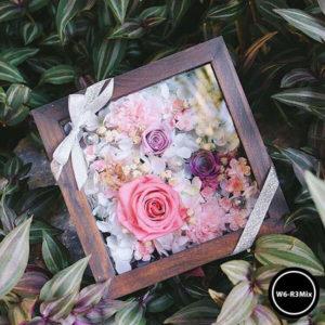 กล่องดอกไม้ W6-R3Mix