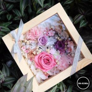 กล่องดอกไม้ W6-R3Mix2