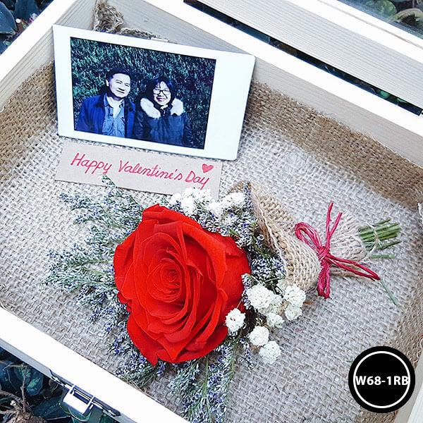 กล่องดอกไม้ W68-1RB