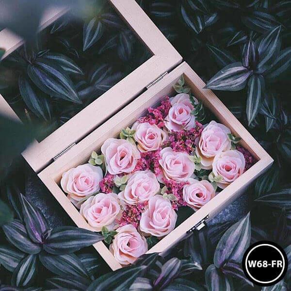 กล่องดอกไม้ W68-FR