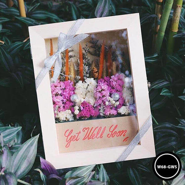 กล่องดอกไม้ W68-GWS