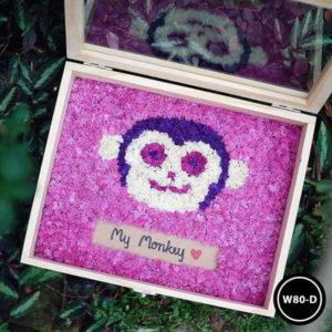 กล่องดอกไม้ W80-D