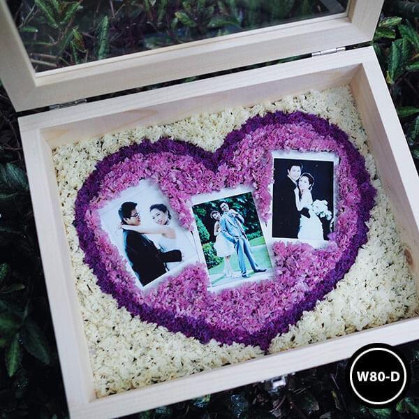 กล่องดอกไม้ W80-D2