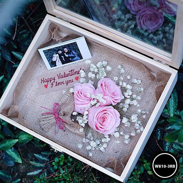 กล่องดอกไม้ W810-3RB