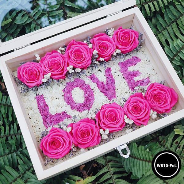 กล่องดอกไม้ W810-FoL