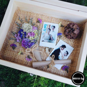 กล่องดอกไม้ W810-Sg