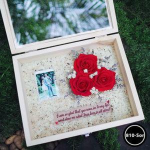 กล่องดอกไม้ W810-SoR